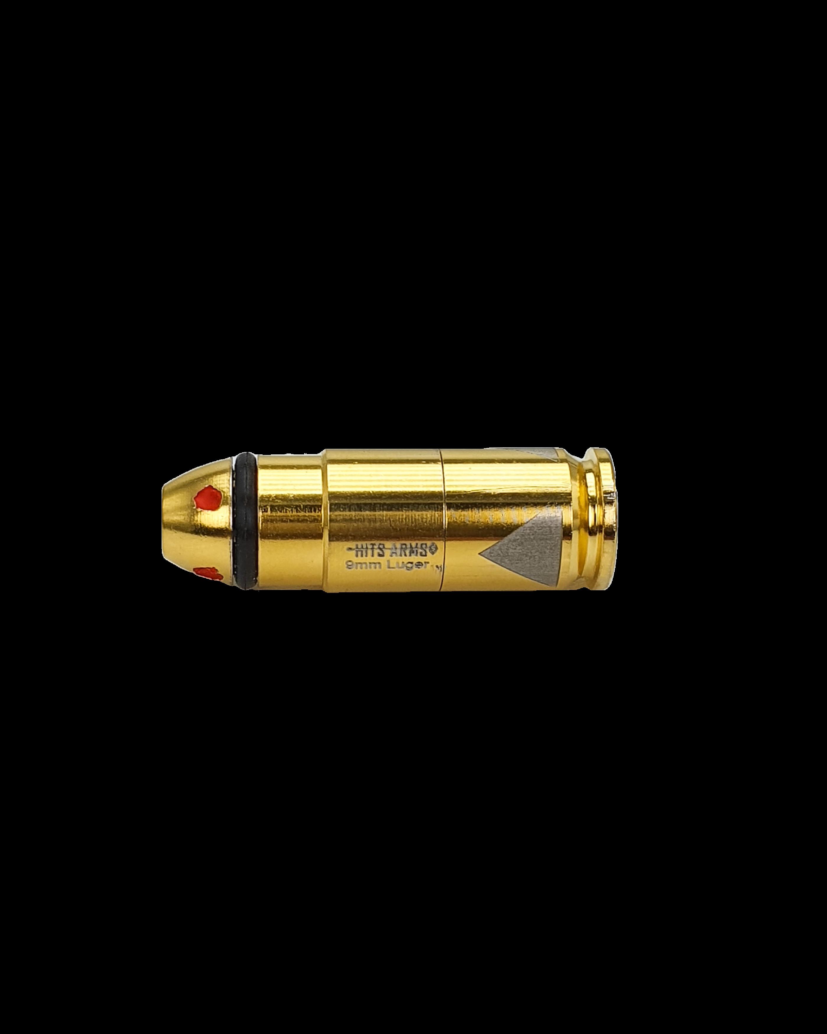 hits arms gen. 2 laser bullet dry fire